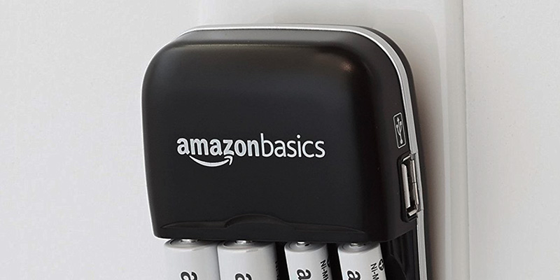 Review of AmazonBasics Battery Charger With USB Port