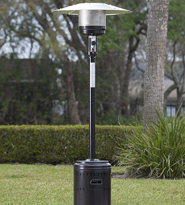 Review of AmazonBasics 61826 Commercial Patio Heater