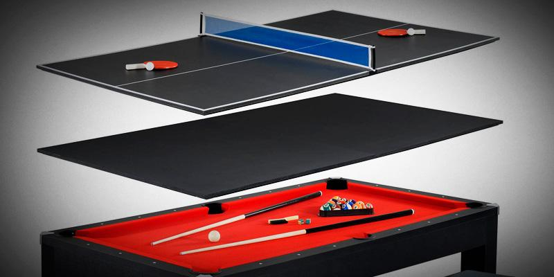 Hathaway Maverick 2-in-1 Table Tennis and Pool Table in the use