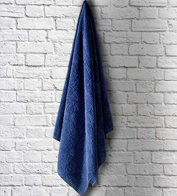 Review of SALBAKOS SYNCHKG052540 40x80 Turkish Cotton Bath Sheet