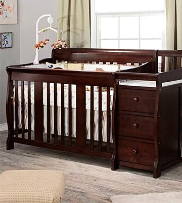 Review of Stork Craft 4-in-1 Fixed Side Convertible Crib and Changer