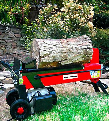 Review of Powerhouse XM-380 Electric Hydraulic Log Splitter