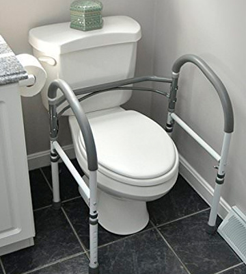 Review of Vaunn Stand-alone Safety Toilet Rail