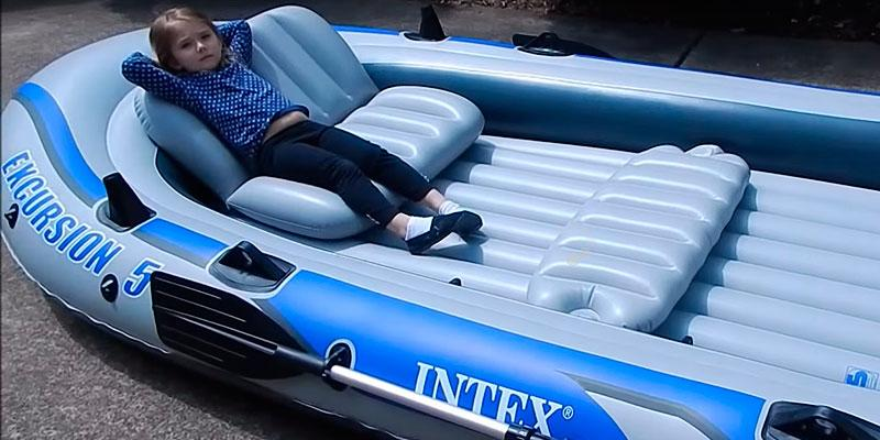 Detailed review of Intex Excursion 5 with Aluminum Oars and High Output Air Pump