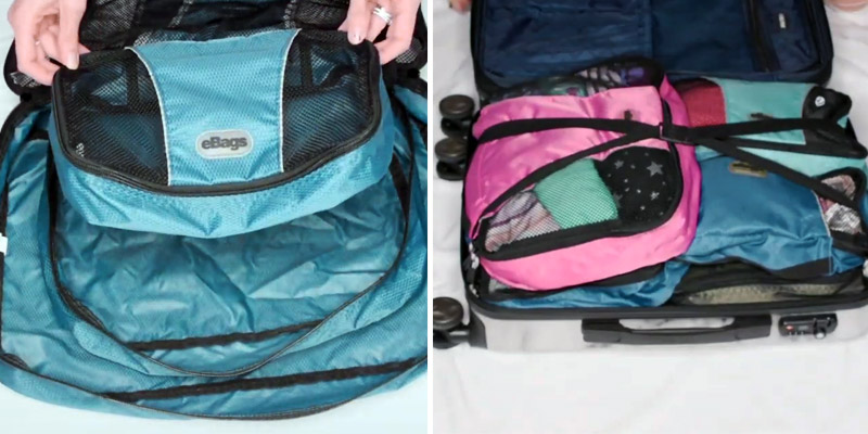 Review of eBags M48439 Classic Packing Cubes for Travel