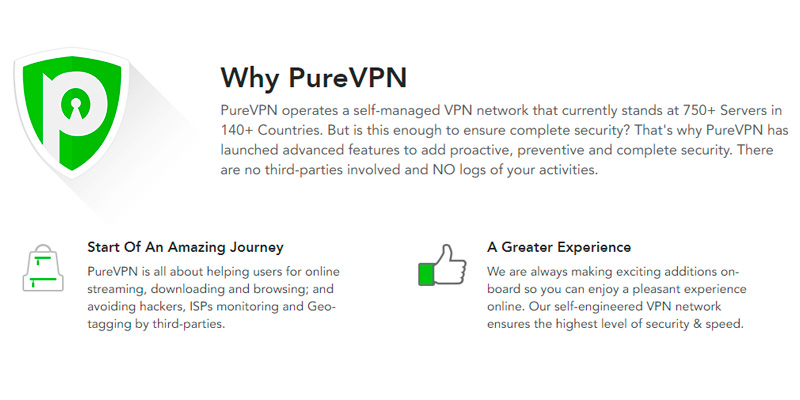 Detailed review of PureVPN Fastest VPN Service
