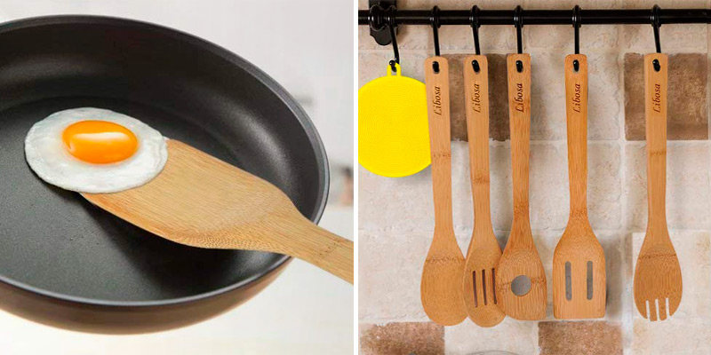 Review of Libosa Bamboo Wooden Spatula Set
