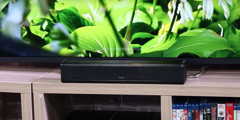 Review of ZVOX AV200 Sound Bar TV Speaker With Hearing Aid Technology