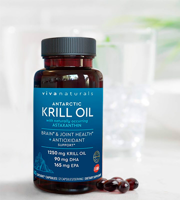Review of Viva Naturals (1250mg) Antarctic Krill Oil Supplement
