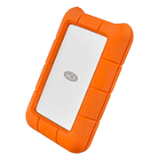 LaCie Rugged USB-C External Hard Drive