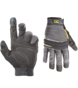 Custom Leathercraft 125L Handyman Flex Grip Work Gloves