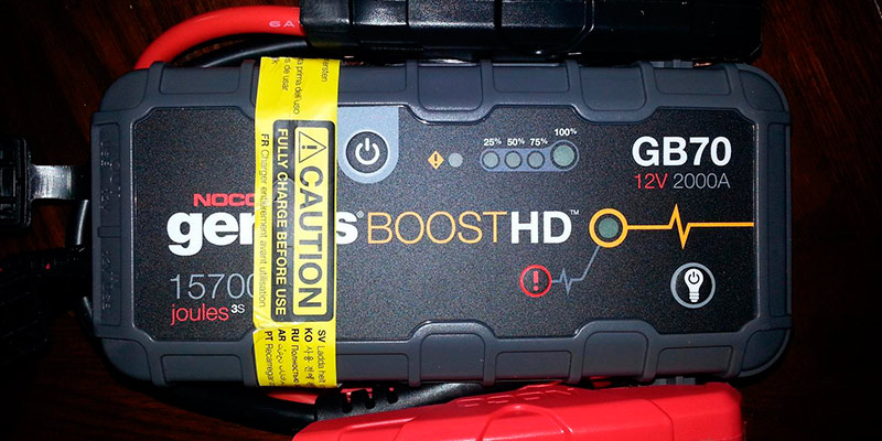 Review of NOCO Genius Boost HD GB70 Jump Starter