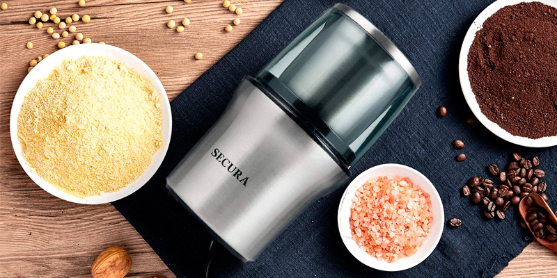 Review of Secura CG7412-2Y Electric Spice Grinder & Coffee Grinder