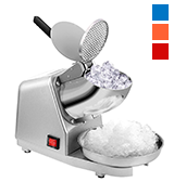 VIVOHOME 143lbs/hr Electric Dual Blades Ice Crusher