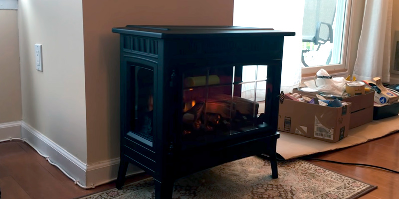 Review of Duraflame DFI-5010-01 Electric Fireplace Stove with 3D Flame Effect