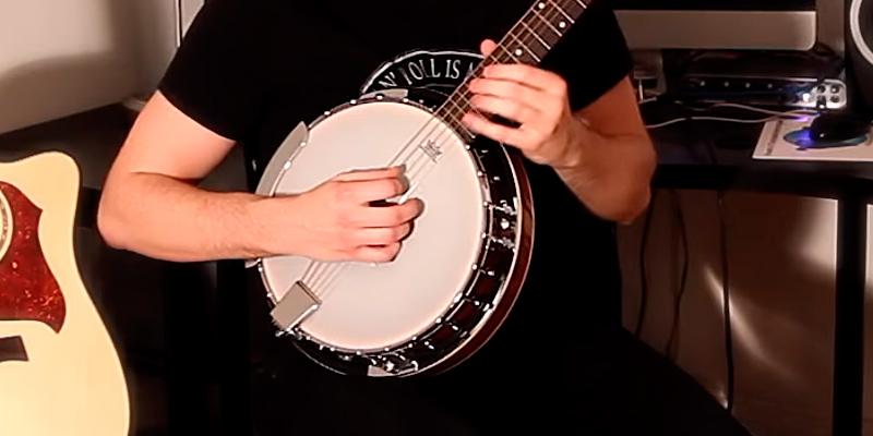 Review of Jameson Guitars 6 String with Closed Back Resonator Banjo