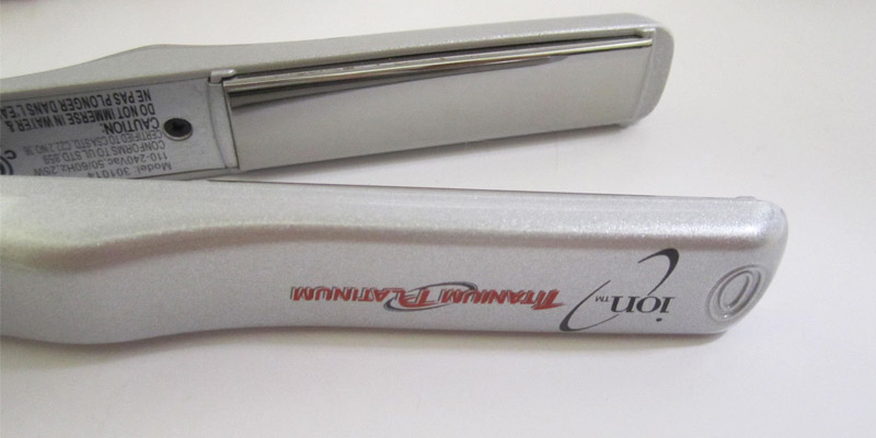 Review of ION Titanium Platinum Mini Flat iron