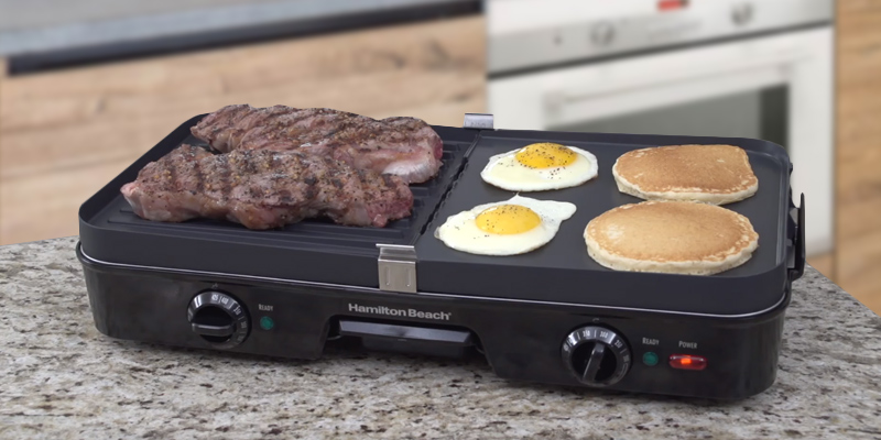 Detailed review of Hamilton Beach 38546 3-in-1 Grill/Griddle