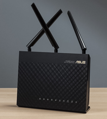 Review of ASUS RT-AC68U AC1900 WiFi Dual-band 3x3 Gigabit Wireless Router with AiProtection Network Security