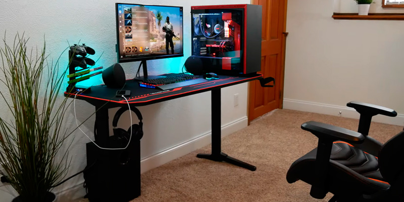 Review of Homall 55 Inch T Shaped Gaming Desk