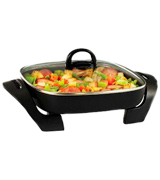 BELLA 14607 Inch Electric Skillet with Copper Titanium Coating