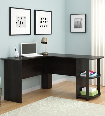Review of Altra Dakota L-Shaped Desk with Bookshelves
