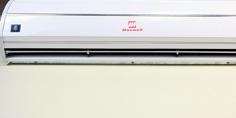 Review of Maxwell MASF036N1 Commercial Air Curtain with Micro-Switch