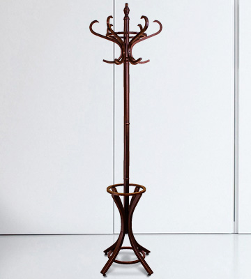 Review of Headbourne Wooden Coat Rack with Umbrella Stand