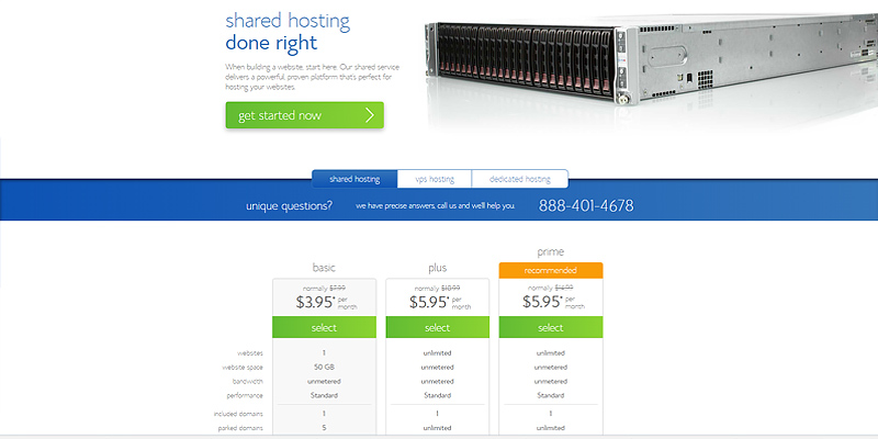 Bluehost Web Hosting in the use