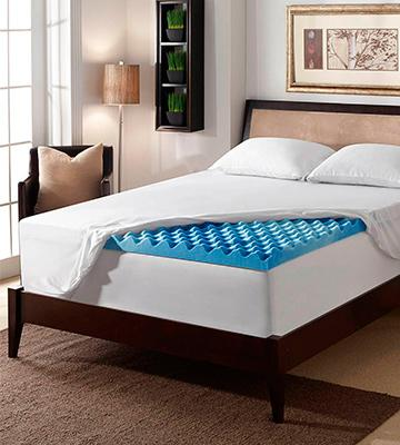 Review of Serta Rest 3 Gel Memory Foam Mattress Topper