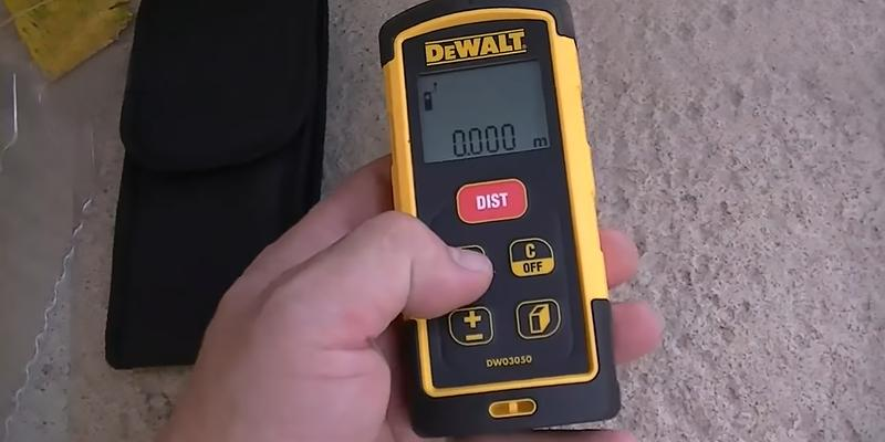 Review of DEWALT DW03050 Laser Distance Measurer