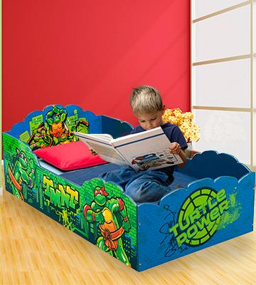 Review of Delta Wood Ninja Turtles Toddler Bed