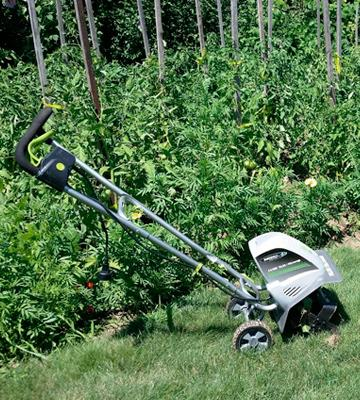 Review of Earthwise Electric Tiller/Cultivator