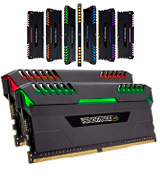 Corsair Vengeance RGB DDR4 3000MHz PC4-24000 Desktop Memory