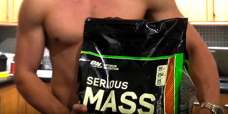Optimum Nutrition Serious Mass in the use
