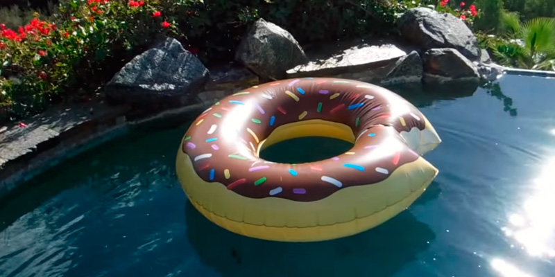 Review of BigMouth Donut Inflatable Pool Float