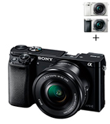 Sony Alpha a6000 (ILCE6000L/B) Mirrorless Digital Vlogging Camera