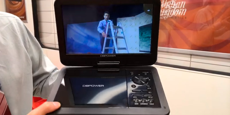 Review of DBPOWER MK101 Portable DVD Player