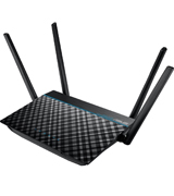 ASUS RT-ACRH13 AC1300 Dual-Band 2x2 Gigabit Router with USB 3.0