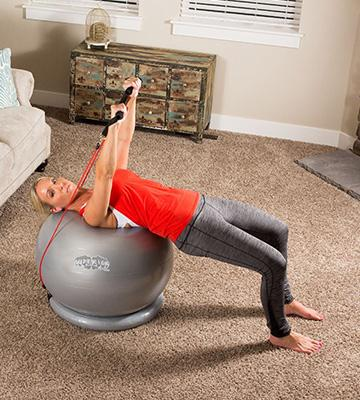 Review of UR Superior Fitness Exercise Ball with Bands