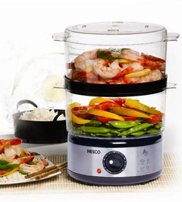 Review of Nesco ST-25P 5-Quart Food Steamer