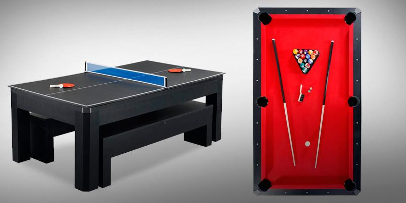 Review of Hathaway Maverick 2-in-1 Table Tennis and Pool Table