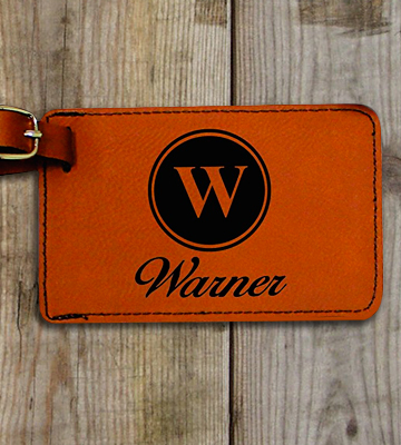 Review of My Personal Memories Engraved Personalized LeatherTags