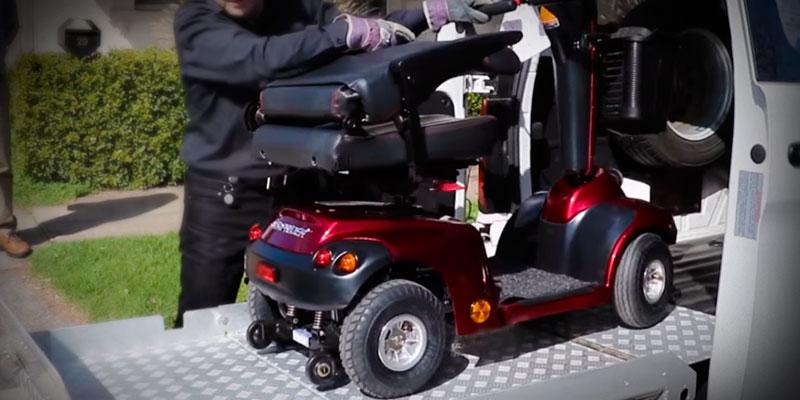 Detailed review of Shoprider Sunrunner Four Wheel Personal Travel