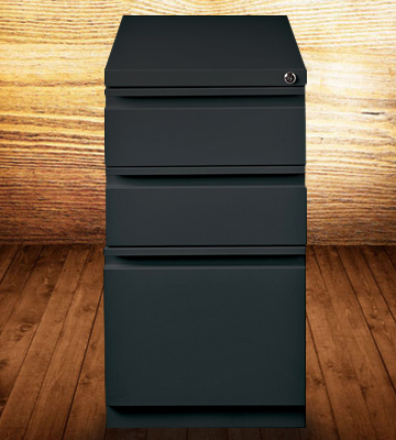Review of Hirsh Industries 18575 3 Drawer Mobile File Cabinet File