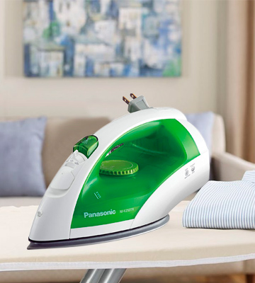 Review of Panasonic ___Dry and Steam Iron with Titanium Coated Soleplate