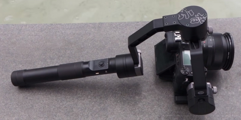 Zhiyun Crane V2 3-Axis Brushless Handheld Gimbal Stabilizer in the use