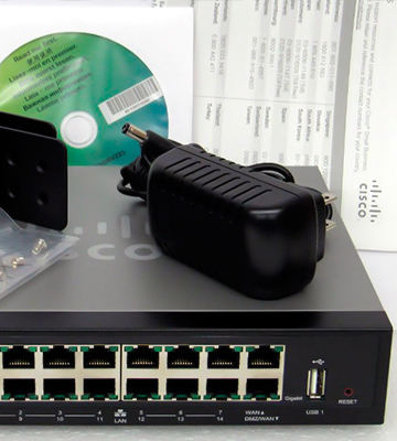 Review of Cisco Systems RV325K9NA Gigabit Dual WAN VPN Router