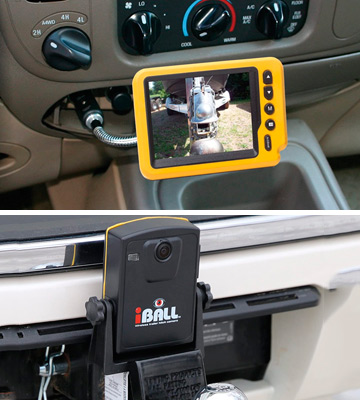 Review of Iball Wireless Magnetic Trailer Hitch Rear View Camera
