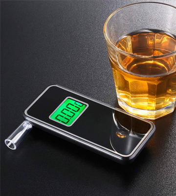 Review of JASTEK Breathalyzer [Upgraded Version] Professional Portable Digital Breath Alcohol Tester